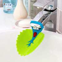 Brand quality animals sink bathroom kitchen toddler water tap faucet extender for kids children baby washing hands products care