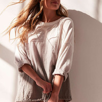 Silence + Noise Katrina Ombre Popover Blouse - Urban Outfitters