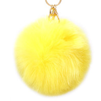 Over Size Pom Pom Fur Ball Keychain