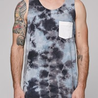 Altamont Stormed Pocket Tank Top - Mens Tee - White