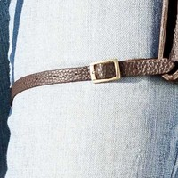 Leather Thigh Strap - Long