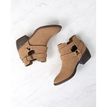 BC Footwear - Communal Cut Out Ankle Booties in More Colors