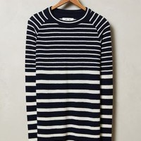 Mixed Stripe Pullover by MiH Blue Motif