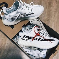 ADIDAS YEZZY 350 BOOST V2 & OFF - WHITE for Women Men