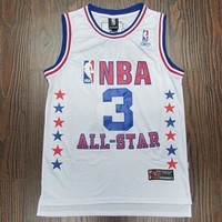 NBA Philadelphia 76ers #3 Allen Iverson 2003 All Star Swingman Jersey S-XXL