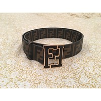 Genuine Womens Brown Fendi Belt 128-2446