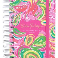 Lilly Pulitzer Pocket 17-Month Agenda - Pink