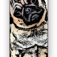 pugs alot dog for iPhone 4/4S Case *