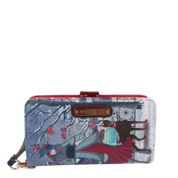 JOANNA LOVES SNOW PRINT WALLET - NEW ARRIVALS