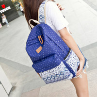 ♡ Ethnic Backpack for School Teenagers Girls Vintage Stylish ♡