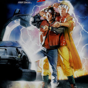 Back to the Future Part II Movie Poster 11x17