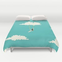 lucy Duvet Cover by Lazy Albino