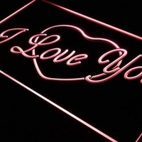 Heart I Love You Neon Sign (LED)