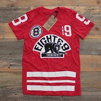 Trenches Hockey Jersey Fire Red