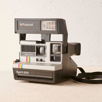 Impossible Project Super Color Rainbow Rare Polaroid Camera - Urban Outfitters