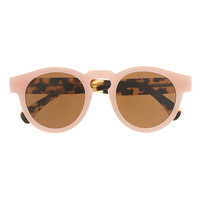 Illesteva For J.Crew Leonard Sunglasses In Pink Tortoise