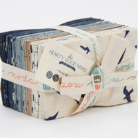 Hearty Good Wishes Fat Eighth Bundle by Janet Clare for Moda Fabrics