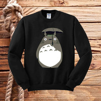 studio ghibli totoro sweater unisex adults
