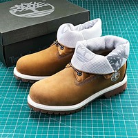 Timberland Single Roll-top Boots-4