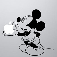 Mickey Mouse Laptop Decal, MacBook, Apple, Cool Stickers