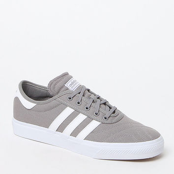 adidas adi Ease Premiere Grey and White Shoes at PacSun.com