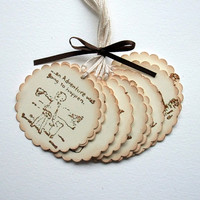 Winnie the Pooh Tags - Baby Shower - Birthday - Classic Winnie the Pooh