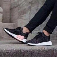 Best Online Sale Adidas NMD R2 Primeknit BB2951 Boost Sport Running Shoes Classic Casual Shoes Sneakers
