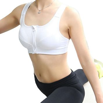 H69 New Gym Women Sports Push Up Bras Underwear No Rims Fitness Running Shockproof Seamless Bra Top For Women Sexy 3 Colors