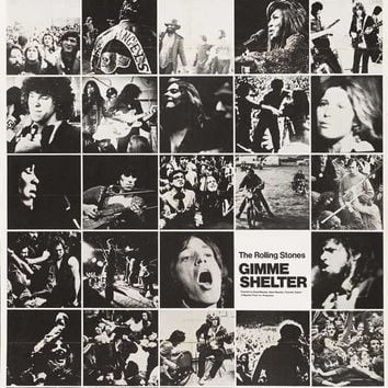 Gimme Shelter - Rolling Stones 11x17 Movie Poster (1970)
