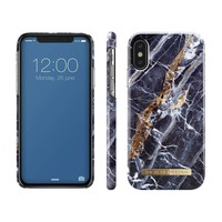 Ideal of Sweden Fashion Case For Apple iPhone X 10 MIDNIGHT BLUE MARBLE