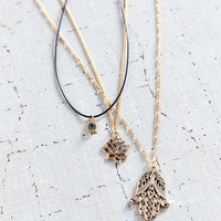 Power Of 3 Layering Necklace Set - Urban Outfitters