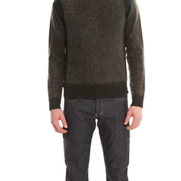 Acne Trick Combo Sweater