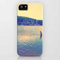 Adventure Awaits iPhone & iPod Case by Deb Schmill