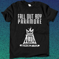 Fall Out Boy Paramore  for T Shirt Mens and T Shirt Girls