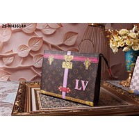LV Louis Vuitton MONOGRAM CANVAS TRUNK SUMMER COLLECTION 2018 HAND BAG