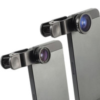 Fisheye Lens / Macro Lens for Smartphones (iPhone, Samsung, HTC, LG etc...)