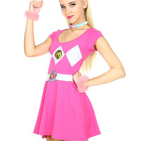 PINK RANGER BALLERINA DRESS