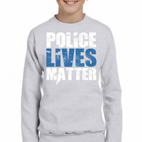 Police Lives Matter Youth Sweatshirt