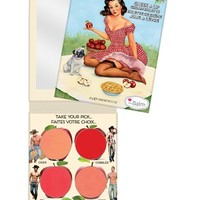 Women's theBalm 'How 'Bout Them Apples' Cream Lip & Blush Palette - How Bout Them Apples?