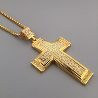 Stylish Jewelry New Arrival Shiny Gift Hot Sale Fashion Hip-hop Club Necklace [6542723139]