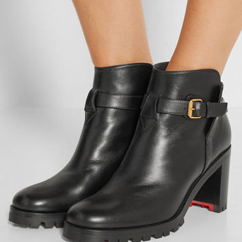 Christian Louboutin - Communa 70 leather ankle boots
