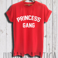 princess gang shirt princess tshirt frozen shirt disney princess shirt unisex size