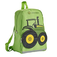John Deere Toddler Boys Tractor Backpack, Lime Green, One Size