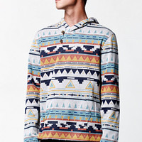 On The Byas Sunset Long Sleeve Hooded Poncho Shirt at PacSun.com