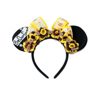 Be Our Guest Mouse Ears Headband, Lumiere Mouse Ears, Cogsworth Mouse Ears, Beauty and the Beast Ears, Minnie Ears Headband, Mouse Costume
