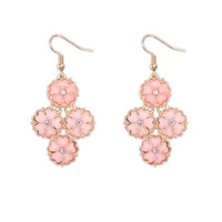 Simple Design Floral Earrings [4919221636]