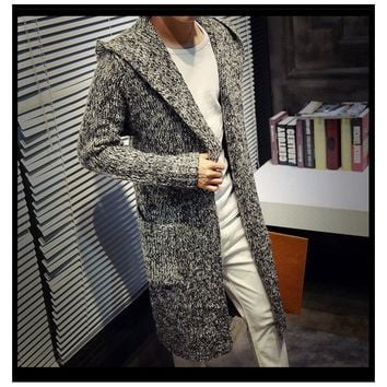 Loose Long Cardigans Sweaters
