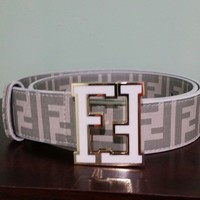 Authentic Fendi Designer Belt