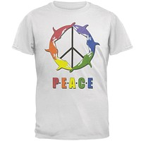 Peace Orca Adult T-Shirt