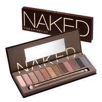 NAKED Eye Shadow  Urban Decay Palette with Brush